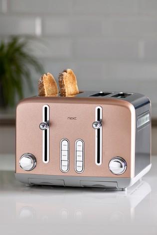 Pink Shimmer 4 Slot Toaster