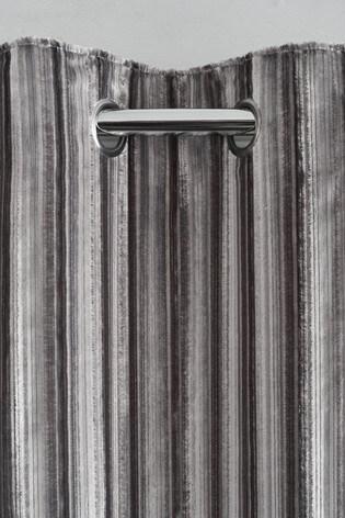 Tinsel Eyelet Curtains