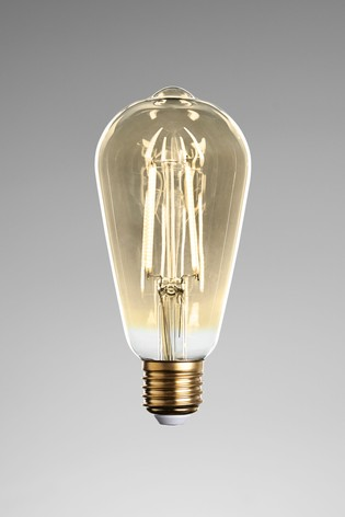 4W LED ES Retro Pear Bulb