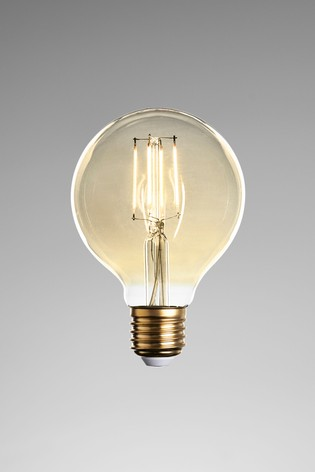 4W LED ES Retro Globe Bulb