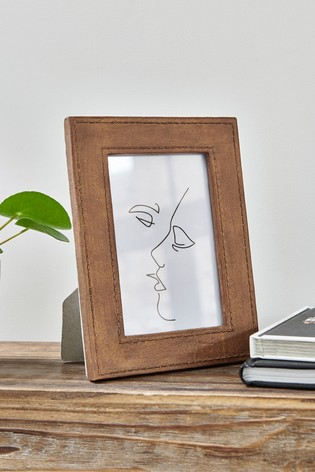 Leather Effect Frame