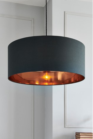 Grey/Copper Easy Fit Shade