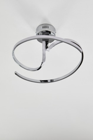 Sculptural LED Flush Fitting