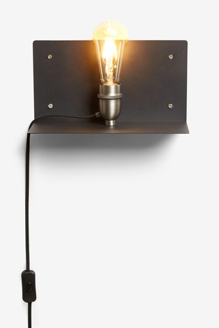 Brooklyn Shelf Wall Light