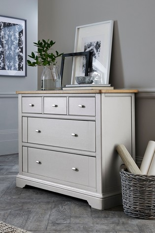 Hampton 5 Drawer Multi Chest