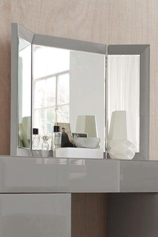 Sloane Grey Dressing Table Mirror