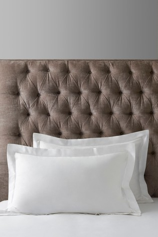 Set of 2 300 Thread Count Collection Luxe 100% Cotton Pillowcases
