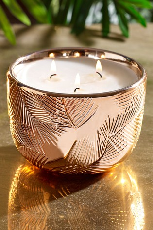 Paradise Blush Ceramic Candle