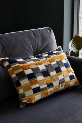 Scion Living Exclusively At Next Kochi Cut Velvet Cushion