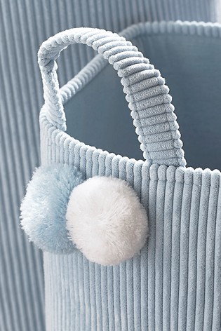 2 Pack Pom Pom Cord Storage Baskets