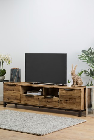 Buy Bronx Superwide Tv Stand From The Next Uk Online Shop