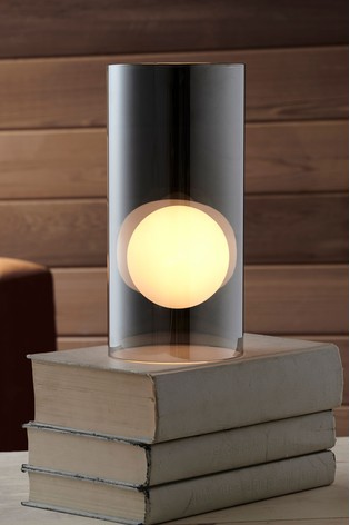 buy orb glass touch table lamp from the next uk online shop. Black Bedroom Furniture Sets. Home Design Ideas