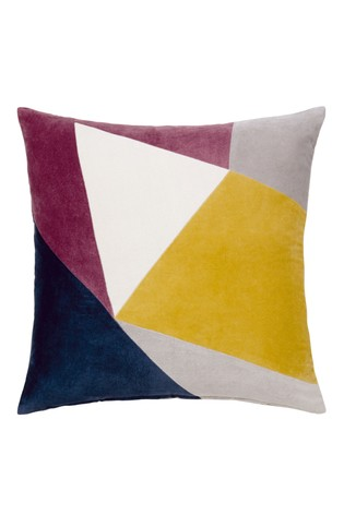 Buy Velvet Patchwork Cushion From The Next Uk Online Shop