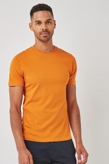 Amber Regular Fit Crew Neck T-Shirt