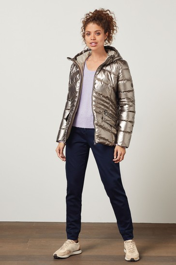 Gold Metallic DuPont Jacket