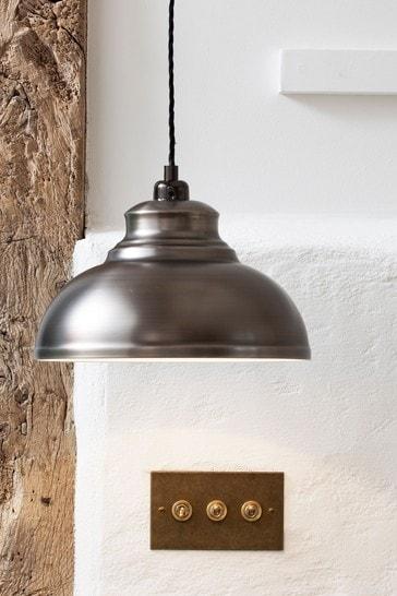 Pewter Dixon Easy Fit Pendant Lamp Shade