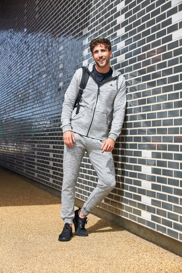 Grey Inject Slim Joggers Next Active Sports Jersey
