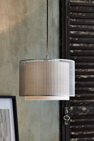 Silver Jada Easy Fit Lamp Shade