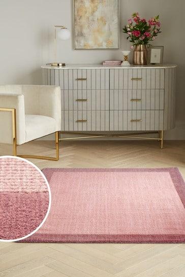 Pink Darcy Wool Rug