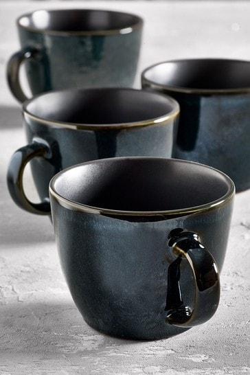 Set of 4 Logan Reactive Mugs