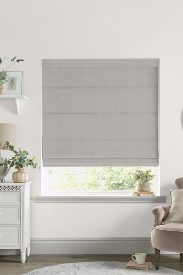 Laura Ashley Natural Swanson Made to Measure Roman Blind