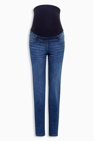 afd10eebf28a4 Buy Dark Blue Maternity Authentic Slim Jeans from Next USA