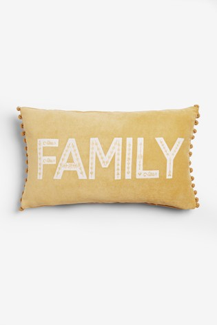 Family Word Cushion