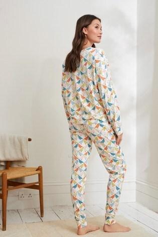 Cream Lintu Scion At Next Cotton Pyjamas