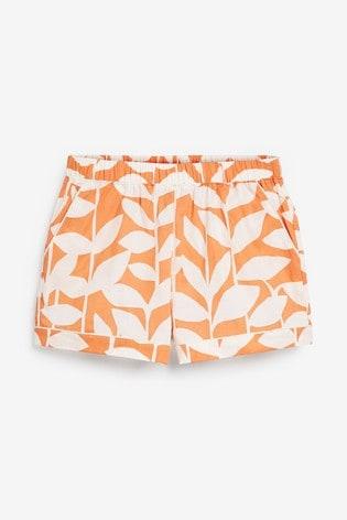 Orange Odesa Scion At Next Button Through Pyjamas
