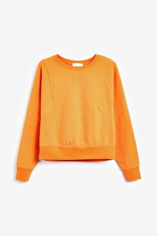 Orange Sweatshirt