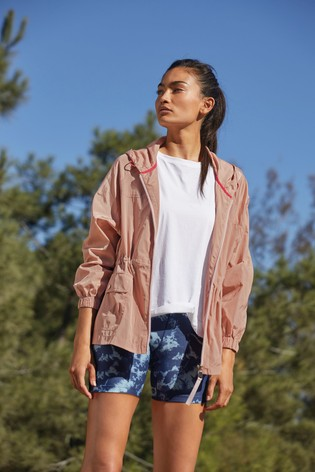 Pink Lightweight Rain Jacket