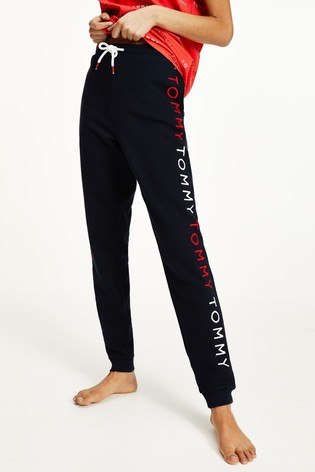Tommy Hilfiger Blue Embroidery Track Pants