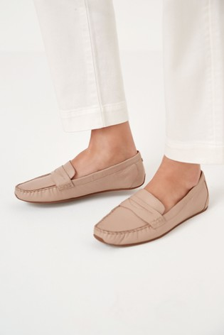 Blush Leather Forever™ Driver Shoes