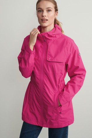 Pink All-Weather Waterproof Jacket