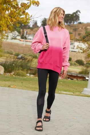 Pink Dip Dye Cotton Tunic