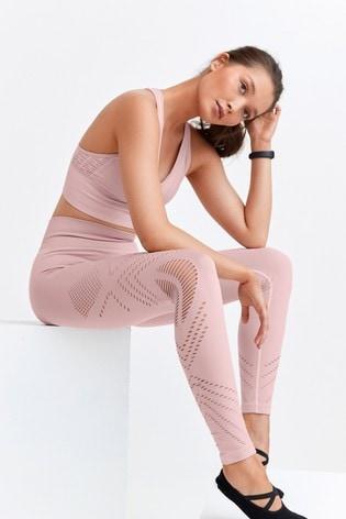 Pink Seamfree Leggings