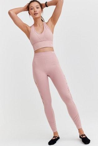 Pink Sports Seamfree Crop Top