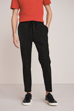 Black Slim Fit Jogger Trousers