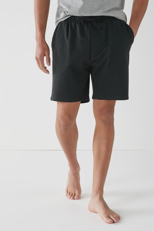 Black Without Stag Shorts Lightweight Loungewear