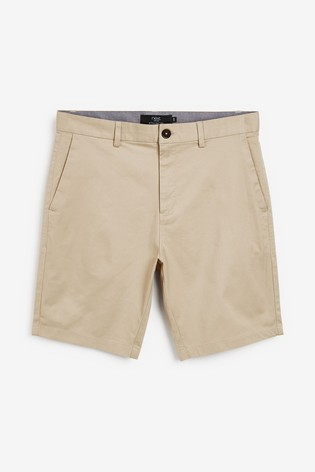 Light Stone Straight Fit Stretch Chino Shorts