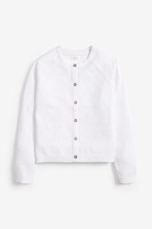 White Cardigan (3-16yrs)