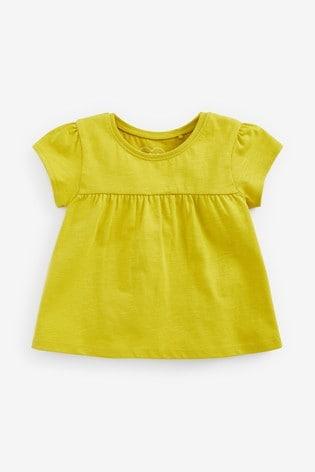 Chartreuse Cotton T-Shirt (3mths-7yrs)