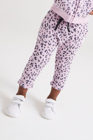 Lilac Animal Joggers Soft Touch Jersey (3mths-7yrs)