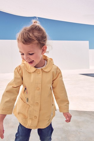 Ochre Character Embroidered Jacket (3mths-7yrs)