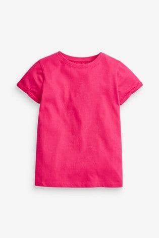 Pink 1 Pack Regular Fit T-Shirt (3-16yrs)