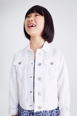 White Denim Jacket (3-16yrs)