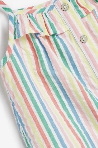 Rainbow Organic Cotton Playsuit (3mths-7yrs)