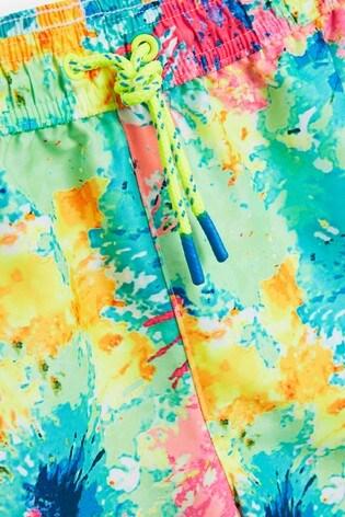 Multi Tie Dye Swim Shorts (3-16yrs)