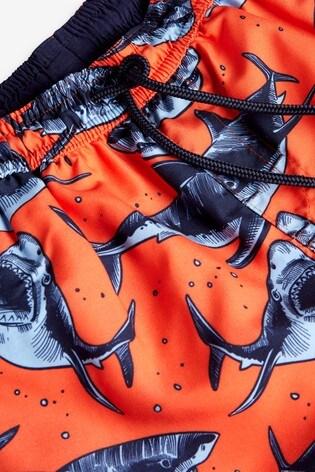 Orange Swim Shorts (3-16yrs)