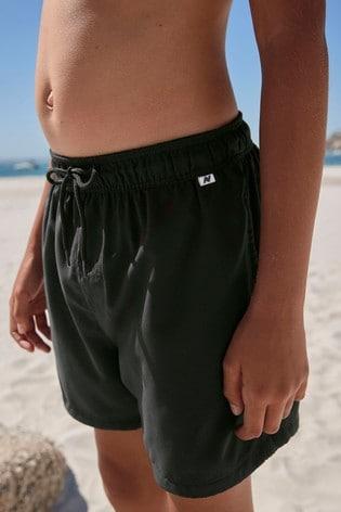 Black Regular Length Swim Shorts (1.5-16yrs)